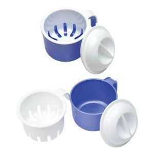 入れ歯洗浄容器 1個 (日本製) (サナダ精工) ポイント消化|d-fit