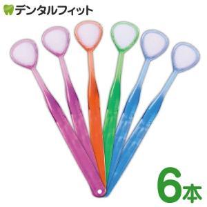 舌ブラシ W-1(ダブルワン) 6本セット カラーは当店おまかせ 舌磨き 舌クリーナー 口臭ケア 口...