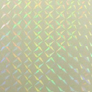 透明 ホログラムシート 1/4プリズム (無色透明) d-form-holo