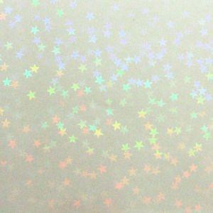 透明 ホログラムシート マイクロスター (無色透明)|d-form-holo