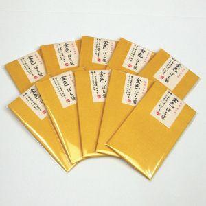 金色 ぽち袋 50枚セット【特撰 金和紙】素敵なお年玉袋|d-form-holo