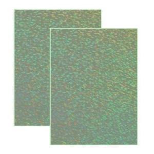 蓄光シート スパークル はがきサイズ2枚セット(シールタイプ)【夜光シート】光を蓄えて暗闇で光る|d-form-holo