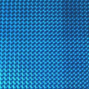 ホログラムシート 1/4プリズム(ライトブルー)【ホログラムシール】|d-form-holo