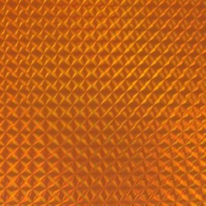 ホログラムシート 1/4プリズム(オレンジ)【ホログラムシール】|d-form-holo