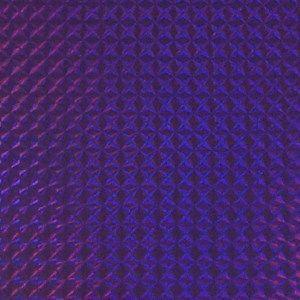 ホログラムシート 1/4プリズム(パープル)【ホログラムシール】|d-form-holo