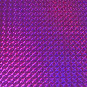 ホログラムシート 1/4プリズム(バイオレット)【ホログラムシール】|d-form-holo