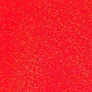 ホログラムシート スパークル(蛍光レッド)【ホログラムシール】|d-form-holo