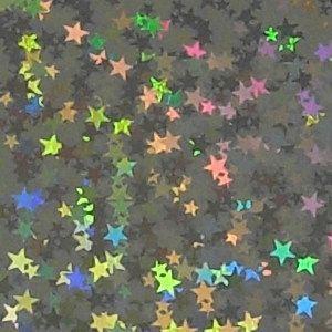 ホログラムシート リトルスター 選べる16色(シールタイプ)【ホログラムシール】|d-form-holo