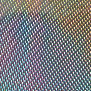 ホログラムシート シーグロー(シルバー)【ホログラムシール】|d-form-holo