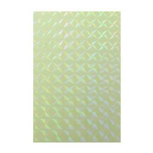 蓄光シート 1/4プリズム(シールタイプ)【夜光シート】光を蓄えて暗闇で光る|d-form-holo