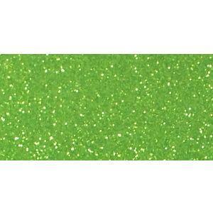 グリッターシート 15cm×30cm シールタイプ(リーフグリーン 黄緑)|d-form-mail