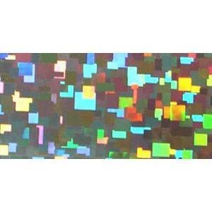 ホログラムシート キュービック(シルバー)|d-form-mail
