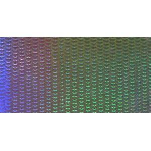 ホログラムシート レーザービット(シルバー)|d-form-mail