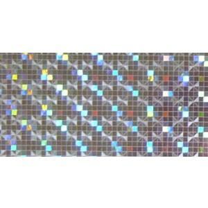 ホログラムシート マイクロスクエアー(シルバー)|d-form-mail