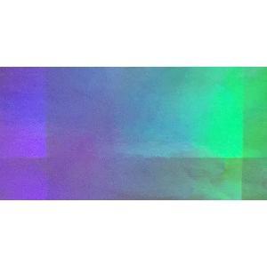 ホログラムシート オーロラ (シルバー)|d-form-mail