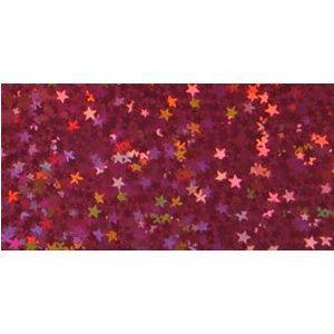 ホログラムシート リトルスター (濃いピンク) d-form-mail