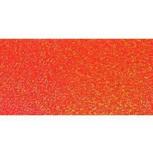 ホログラムシート スパークル (蛍光オレンジ) d-form-mail