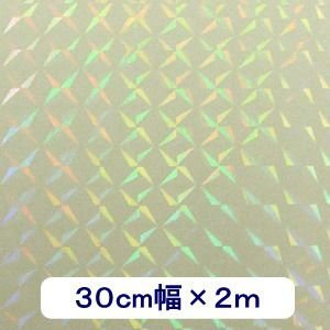 透明 ホログラムシート 1/4プリズム 30cm幅×2m ロール|d-inform