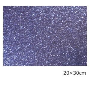 送料無料 グリッターシート/シールタイプ ペールパープル 20cm×30cm(約A4サイズ)|d-inform
