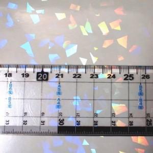 透明 ホログラムシート クリスタル 30cm幅×10m ロール|d-inform|02