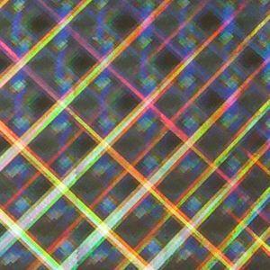 ホログラムシート ハイパープレード  選べる6色(シールタイプ) d-inform