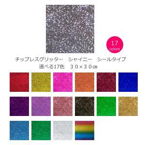 チップレスグリッター シャイニー 選べる17色 30cm×30cm|d-inform