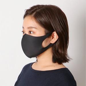 〈コックス〉清(さや)マスク Mサイズ-ブラック[IN]day2【YHO】_C210106700004004|d-kintetsu-ec