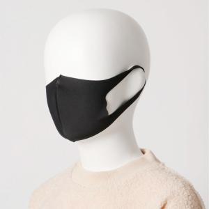 〈コックス〉清(さや)マスク Sサイズ子供用-ブラック[IN]day2【YHO】_C210106700006003|d-kintetsu-ec
