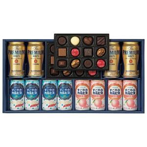 お歳暮 ギフト ビール・ジュース・チョコレートセット-BJE-30[F1]seibo【YHO】_K201010101162