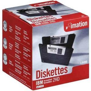 imation イメーション 3.5インチ 2HD フロッピーディスク Windows/DOSフォーマット済 1箱25枚入り US仕様パッケージ MF2HD-WIN-25KS|d-park