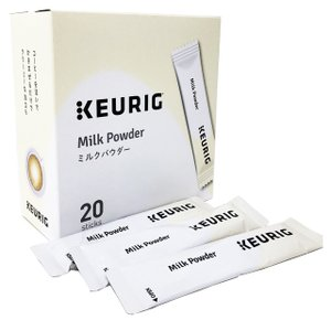 KEURIG キューリグ ミルクパウダー 7g 20本入(スティック)|d-park
