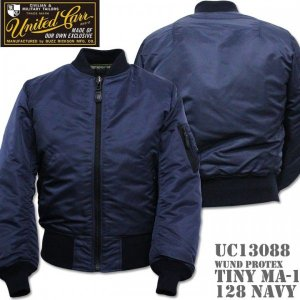 UNITED CARR(ユナイテッド・カー)WIND PROTEX TINY MA-1 UC13088-128 Navy|d-park