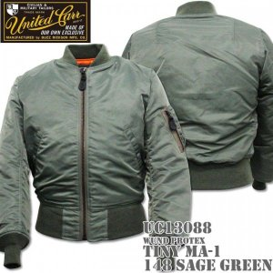 UNITED CARR(ユナイテッド・カー)WIND PROTEX TINY MA-1 UC13088-148 Sage Green|d-park