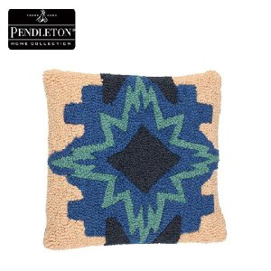 PENDLETON (ペンドルトン) Hooked Wool Pillows フックドピロー North Star XP070-52728|d-park