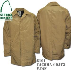 SIERRA DESIGNS シエラデザインズ TACOMA COAT 2 タコマコート 8101 V.tan|d-park