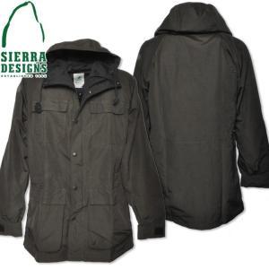 SIERRA DESIGNS シエラデザインズ MOUNTAIN PARKA マウンテンパーカー 7910 Olive Drab/Black|d-park