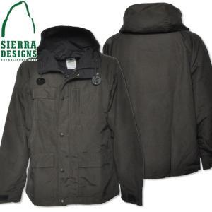 SIERRA DESIGNS シエラデザインズ SHORT PARKA ショートパーカー 8001 Olive Drab/Black|d-park