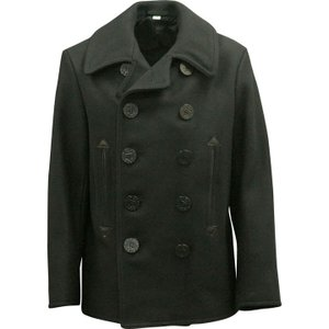 BUZZ RICKSON'S バズリクソンズ Type BLACK PEA COAT 36oz Wool WILLIAM GIBSON COLLECTION BR12394|d-park|02