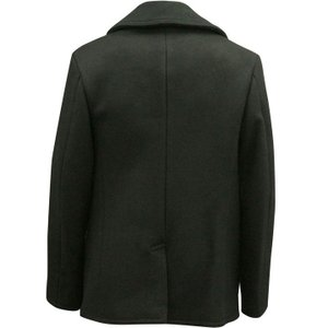 BUZZ RICKSON'S バズリクソンズ Type BLACK PEA COAT 36oz Wool WILLIAM GIBSON COLLECTION BR12394|d-park|03