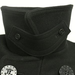 BUZZ RICKSON'S バズリクソンズ Type BLACK PEA COAT 36oz Wool WILLIAM GIBSON COLLECTION BR12394|d-park|05