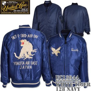 UNITED CARR(ユナイテッド・カー)REVERSIBLE MA-1『WHITE TIGER』UC13944-128 Navy|d-park