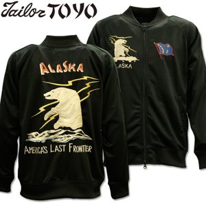 TAILOR TOYO(テーラー東洋)スカジャージ SUKA ZIP UP JERSEY『ALASKA』TT68101-119 Black|d-park