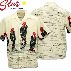 Star OF HOLLYWOOD ( スターオブハリウッド ) Open Shirt 『 CONDOR 』 SH38120-105 Off White d-park