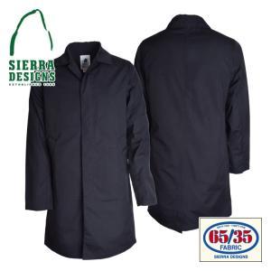SIERRA DESIGNS シエラデザインズ 65/35 SPRING COAT スプリングコート 6503 Black/Black|d-park