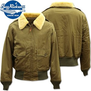 BUZZ RICKSON'S バズリクソンズ フライトジャケット B-10 L.S.L. GARMENT CO. NATURAL MOUTION COLLAR BR14388|d-park