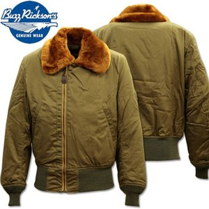 BUZZ RICKSON'S ( バズリクソンズ ) フライトジャケット B-15 『 ROUGH WEAR CLOTHING CO. 』 BR14390 d-park