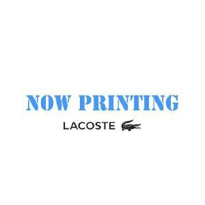 【正規品】LACOSTE(ラコステ)長袖リブカラ シャツ フラマン L1312V T03|d-park
