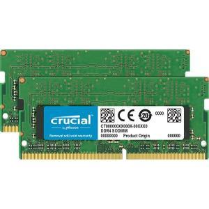 crucial 32GB Kit (16GBx2) DDR4 2666 MT/s (PC4-21300) CL19 DR x8 Unbuffered SODIMM 260pinCT2K16G4SFD8|d-park