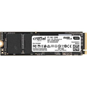 crucial Crucial P1 500GB NVMe PCIe M.2 SSDCT500P1S...