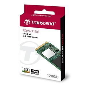 トランセンドジャパン 128GB M.2 2280 PCIe Gen3x4 3D TLCTS128GMTE110Sの商品画像|ナビ